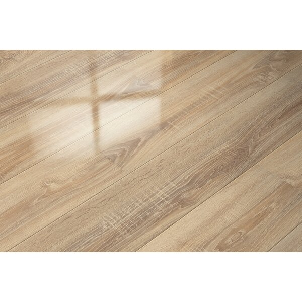 7 x 51 x 9mm Oak Laminate Flooring in Tan by ELESGO Floor USA