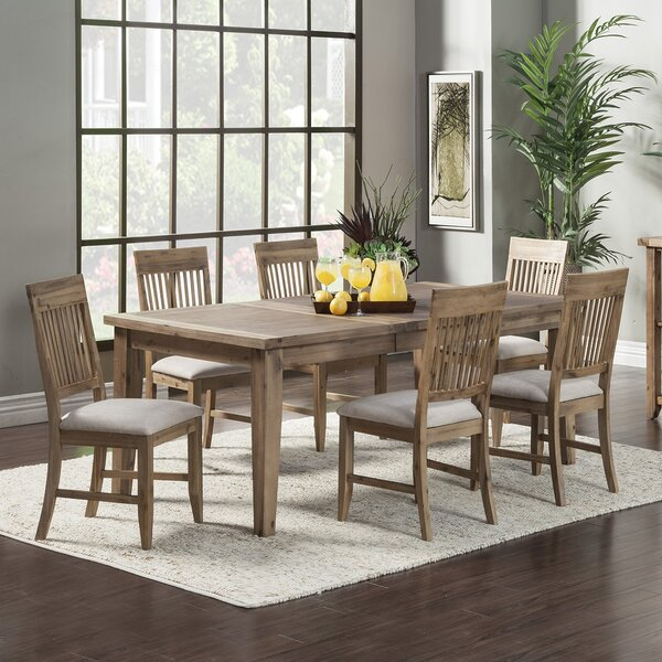 Centralia 7 Piece Dining Set by Highland Dunes