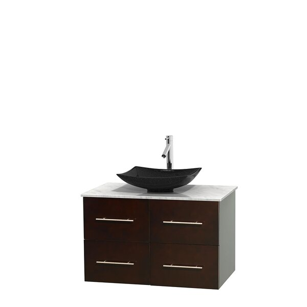 Centra 36 Single Bathroom Vanity Set by Wyndham Collection