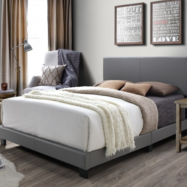 Colwell Queen Upholstered Panel Bed by Mercury Row