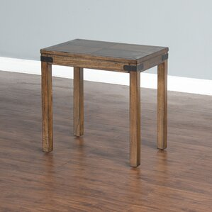 Jolicoeur Chair End Table by Loon Peak
