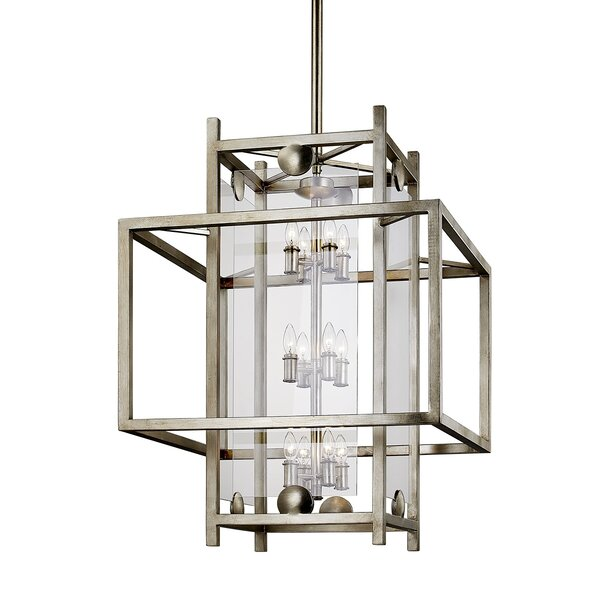 Pascal 12 - Light Lantern Square Chandelier by 17 Stories 17 Stories