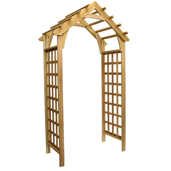 Phat Tommy Gable Wood Arbor by Buyers Choice