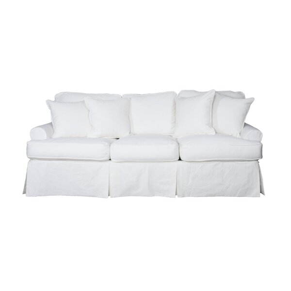 Rundle T-cushion Sofa Slipcover By Beachcrest Home