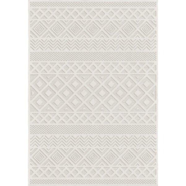 Borrero Diamond Ivory Indoor/Outdoor Area Rug by Union Rustic