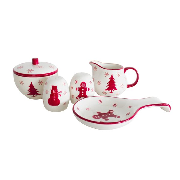 Winterfest 5 Piece Completer Set by The Holiday Aisle