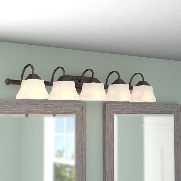 Chan 5-Light Vanity Light by Fleur De Lis Living