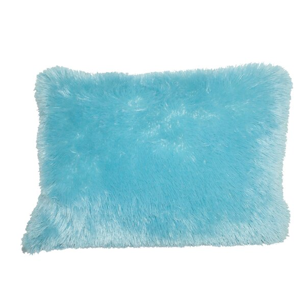 Helmick Shag Throw Pillow by Harriet Bee