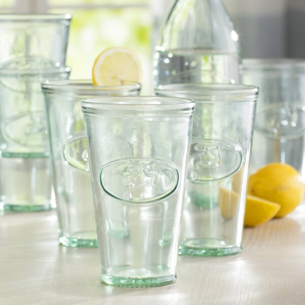 Water Faucet Highball Glasses (Set of 6) by Birch Lane™