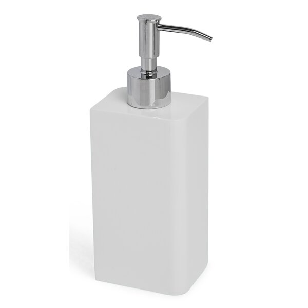 Lacca Collection Bath Accessories Soap & Lotion Dispenser by Kassatex Fine Linens