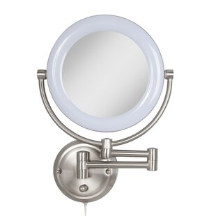 Soho Metal Surround Light Makeup Wall Mirror ByDarby Home Co
