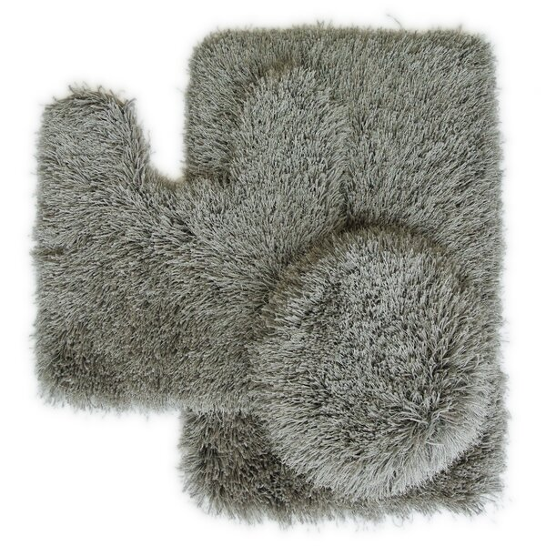 Pesina 3 Piece Bath Rug Set by Latitude Run