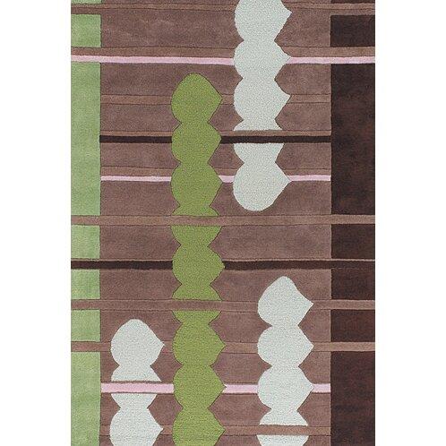 Melynnie Brown/green Area Rug By Orren Ellis.