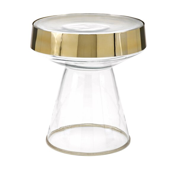 Rosner Glass Tray Table by Mercer41 Mercer41
