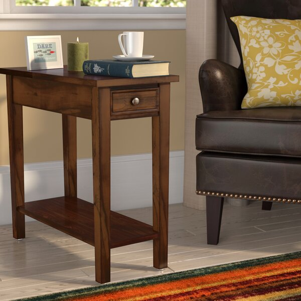 Welwyn Chairside Table by Charlton Home