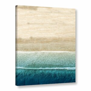'Jupiter Beach' Graphic Art Print on Canvas by Highland Dunes