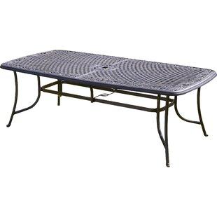 Cast Aluminium Dining Table