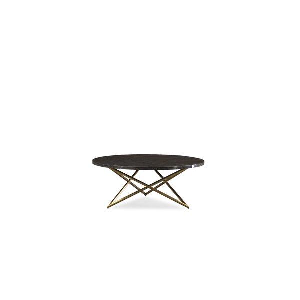 Waddington Cross Legs Coffee Table By Everly Quinn