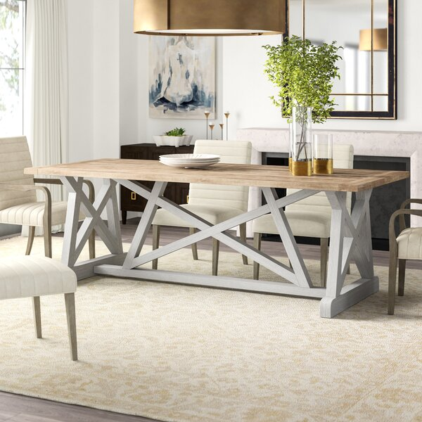 Aquarius Solid Wood Dining Table by Furniture Classics