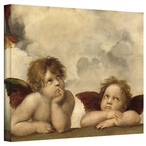 'Cherubs' by Raphael Painting Print on Canvas by ArtWall