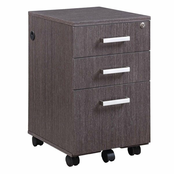 Horizon 3 Drawer Mobile Vertical Filing Cabinet