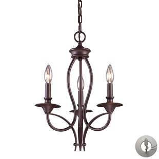 Packard 3-Light Candle Style Chandelier by Alcott Hill