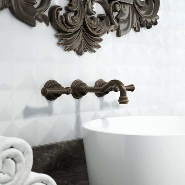 Barrea Wall Mounted Bathroom Faucet by Jacuzzi®