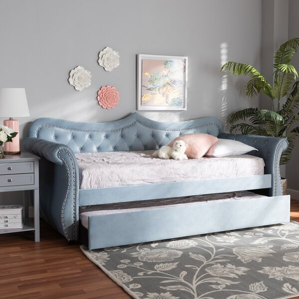Mcmillen Twin Daybed with Trundle by Rosdorf Park Rosdorf Park