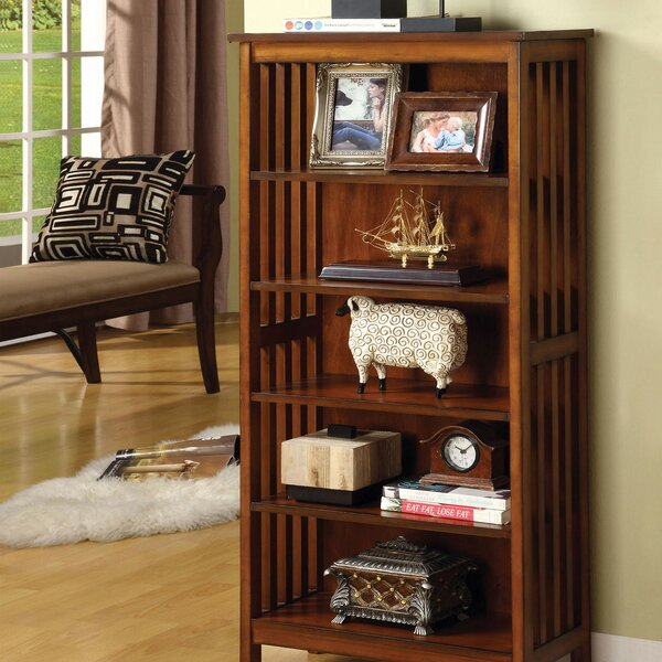 Stepp Standard Bookcase by Millwood Pines Millwood Pines