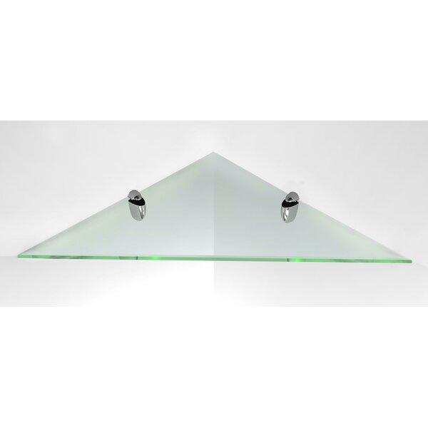 Glass Corner Shelf by Fab Glass and Mirror