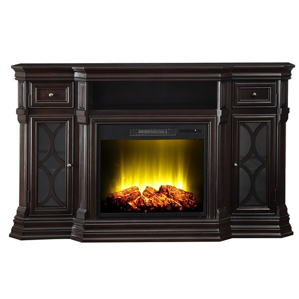 Amaia 60 TV Stand with Electric Fireplace by Alcott Hill