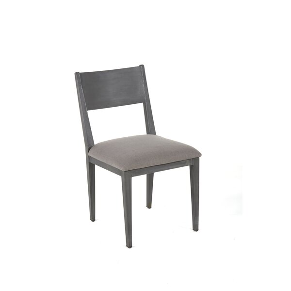 Harlow Upholstered Side Chair In Gray (Set Of 2) By Foundry Select