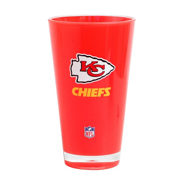 NFL 20 oz. Plastic Every Day Glass by DuckHouse