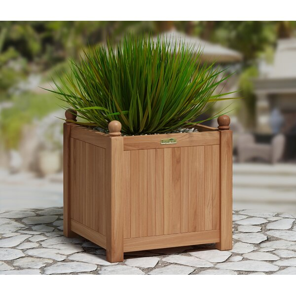 Teakwood Planter Box by Royal Teak by Lanza Products