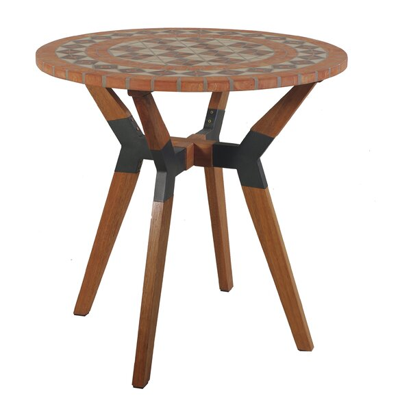 Roseland Round Bistro Table by Beachcrest Home