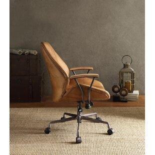 Ahmad Top Grain Leather Task Chair