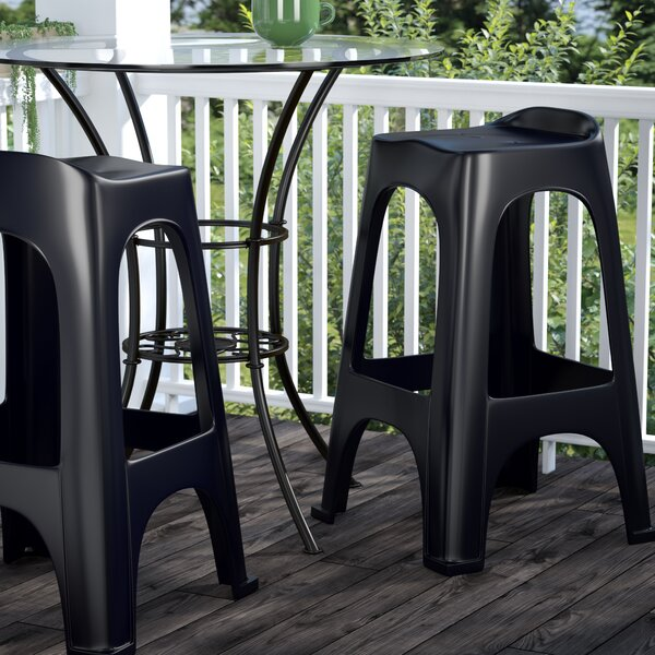 30 Patio Bar Stool (Set of 2) by Symple Stuff| @ $76.99