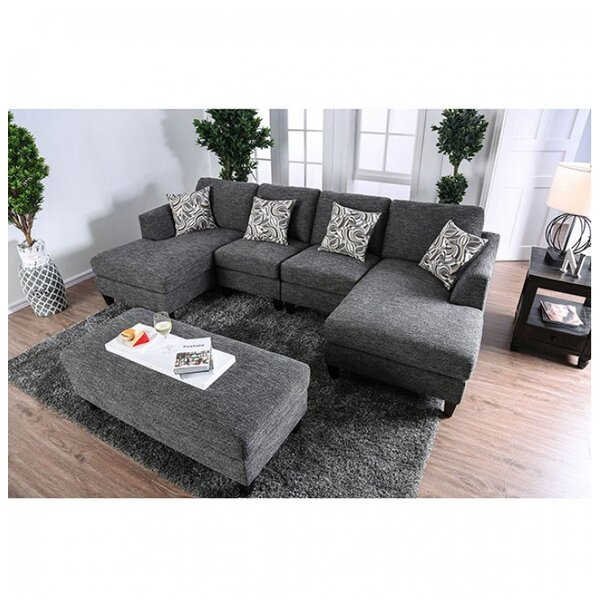 Bax Sectional with Ottoman by Latitude Run
