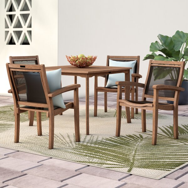 Tovar 5 Piece Dining Set by Beachcrest Home