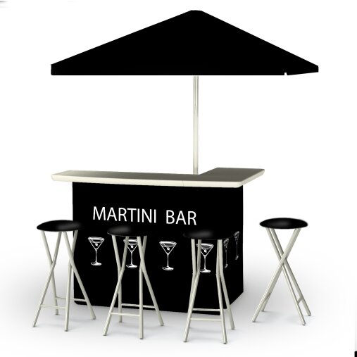 Potawatomi 8 Piece Bar Set by Winston Porter