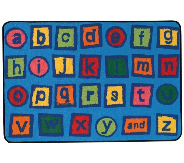 Alphabet Blocks Kids Rug by Kids Value Rugs