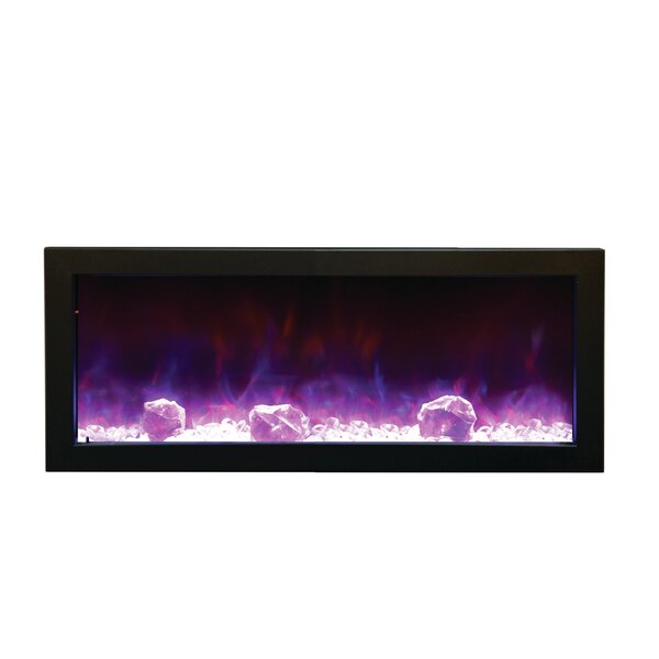 Panorama Series Built-In Electric Fireplace by Amantii