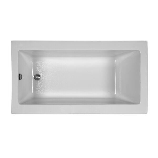 Reliance Contemporary 60 x 32 Drop In Soaking Bathtub by Reliance