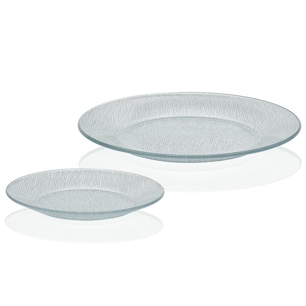 Yute 12 Piece Dinnerware Set Service for 6 by Libbey