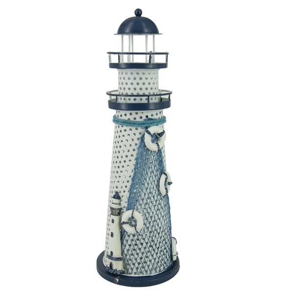 Ocean Lighthouse Multicolored LED Night Light by Attraction Design Home