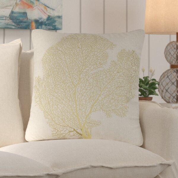 Pebble Creek Indoor Outdoor Throw Pillow (Set of 2) by Beachcrest Home