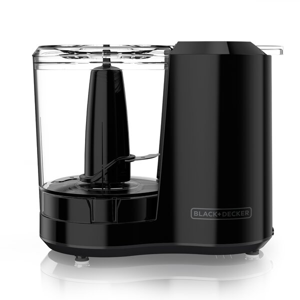 3-Cup One-Touch Electric Chopper with Lid by Black + Decker