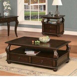 Emiliano Coffee Table with Storage