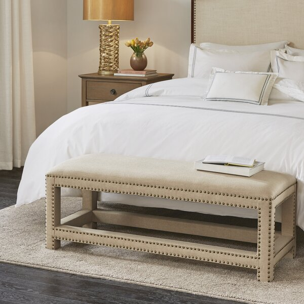 Blakely Upholstered Bench by Darby Home Co