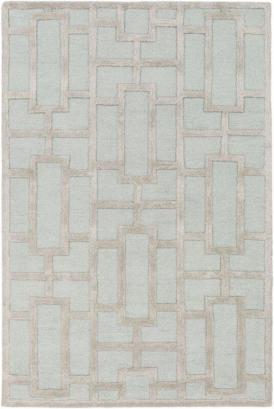 arise addison handtufted light blue area rug